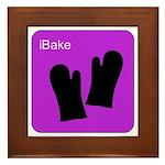 iBake Purple Framed Tile
