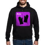 iBake Purple Hoodie (dark)