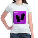 iBake Purple Jr. Ringer T-Shirt