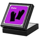 iBake Purple Keepsake Box