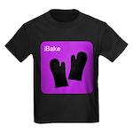 iBake Purple Kids Dark T-Shirt