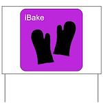 iBake Purple Yard Sign