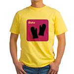 iBake Purple Yellow T-Shirt