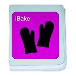 iBake Purple baby blanket