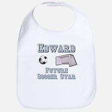 Edward - Future Soccer Star Bib