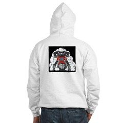ZRX Burn Out Red Hoodie