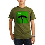 iGrill Green Organic Men's T-Shirt (dark)
