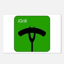 iGrill Green Postcards (Package of 8)