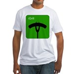 iGrill Green Fitted T-Shirt