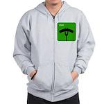 iGrill Green Zip Hoodie