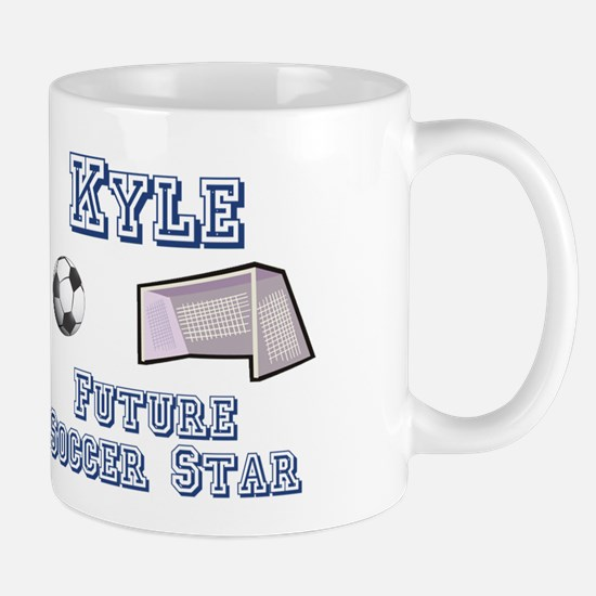 Kyle - Future Soccer Star Mug