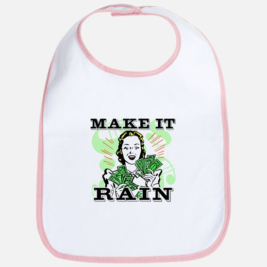Make It Rain Bib