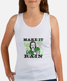 Make It Rain Women's Tank Top