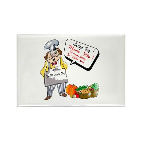 Premium Chef.:-) Rectangle Magnet