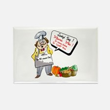Premium Chef.:-) Rectangle Magnet