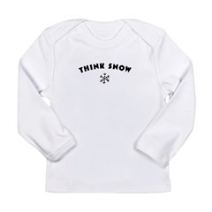 Think Snow Long Sleeve Infant T-Shirt