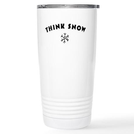 Think Snow Stainless Steel Travel Mug