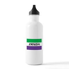 ZRXOA Logo Water Bottle