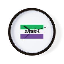 ZRXOA Logo Wall Clock