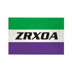 ZRXOA Logo Rectangle Magnet (100 pack)