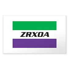 ZRXOA Logo Decal