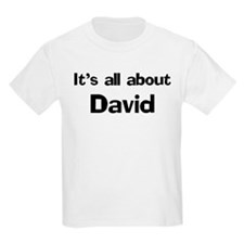 It's all about David Kids T-Shirt
