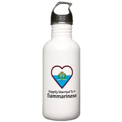 Happily Married Sammarinese Water Bottle