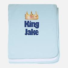 King Jake baby blanket