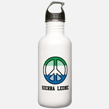 Peace In Sierra Leone Water Bottle