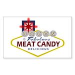 Vegas Bacon Sticker (Rectangle)