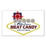 Vegas Bacon Sticker (Rectangle 10 pk)