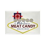 Vegas Bacon Rectangle Magnet (100 pack)