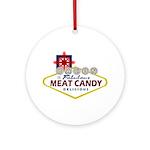 Vegas Bacon Ornament (Round)