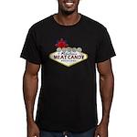 Vegas Bacon Men's Fitted T-Shirt (dark)