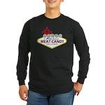 Vegas Bacon Long Sleeve Dark T-Shirt