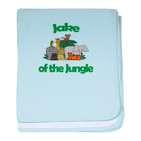Jake of the Jungle baby blanket