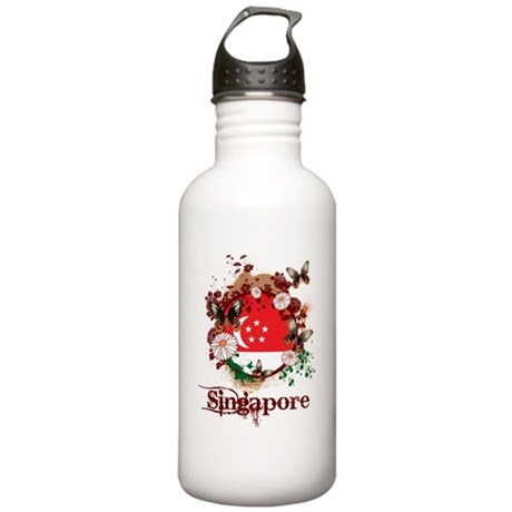 Butterfly Singapore Stainless Water Bottle 1.0L