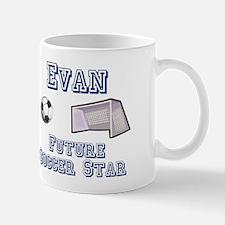 Evan - Future Soccer Star Mug