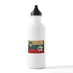 Vintage Slovenia Football Water Bottle