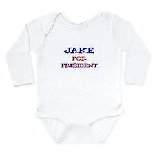 Jake for President Long Sleeve Infant Bodysuit