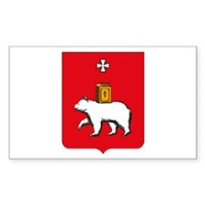 Perm Coat of Arms Rectangle Decal