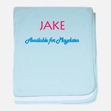 Jake - Available for Playdate baby blanket