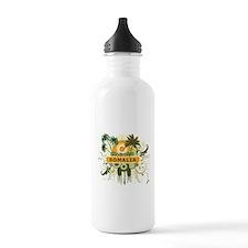 Palm Tree Somalia Water Bottle