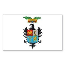 Palermo Coat of Arms Rectangle Decal