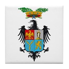 Palermo Coat of Arms Tile Coaster
