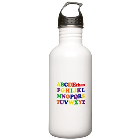 Ethan - Alphabet Stainless Water Bottle 1.0L