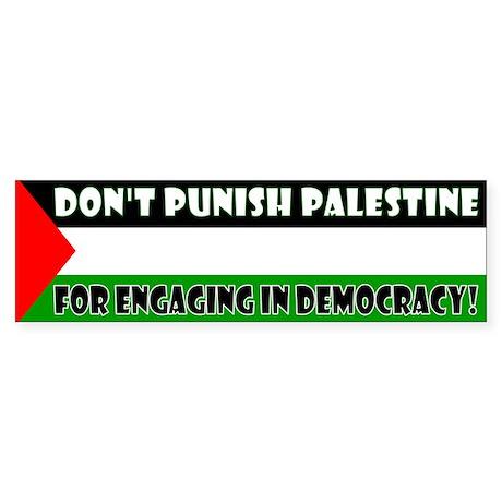 Palestinian Elections: Don't Punish Palestine