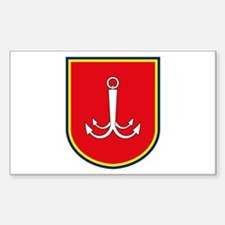 Odessa Coat of Arms Rectangle Decal