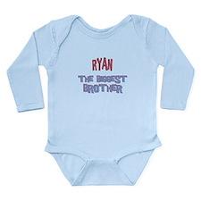 Ryan - Dino Big Brother Long Sleeve Infant Bodysui
