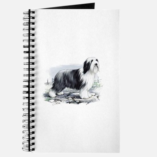 Unique Bearded collie Journal